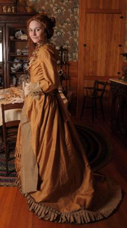Dress of Anne Pope Abernathy