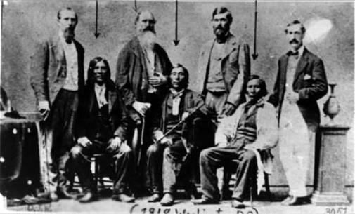 Nez Perce Delegation