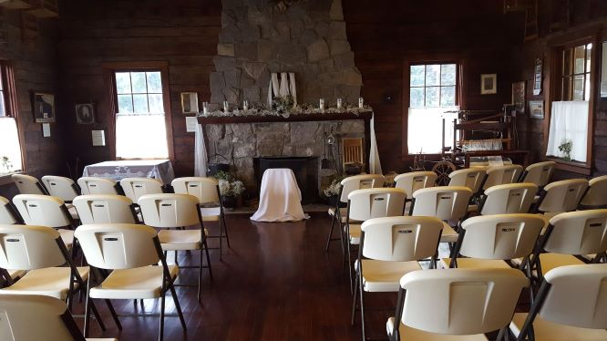 Cabin Wedding